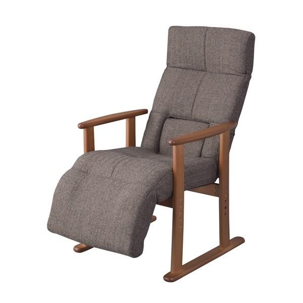 単品 マルチ パーソナルチェア (イス 椅子) ブラウン 茶