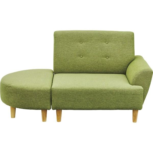 単品 ソファ グリーン 緑