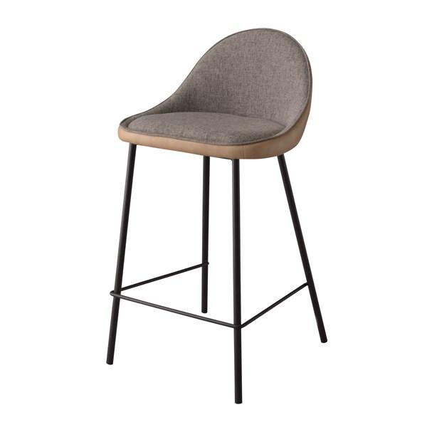 単品 カウンターチェア (イス 椅子) (数量1) ベージュ