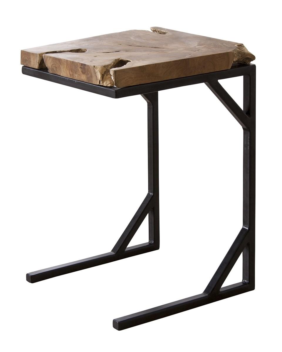 単品 サイドテーブル エンドテーブル コーナーテーブル 小型 脇台 机 (数量1)