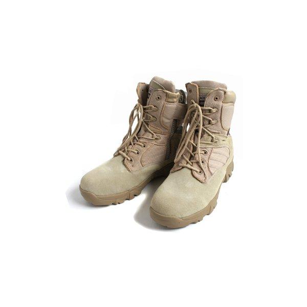 """アメリカ軍 サイドジッパブーツ/靴 【 6W/24cm 】 特殊部隊""""DE LTA"""