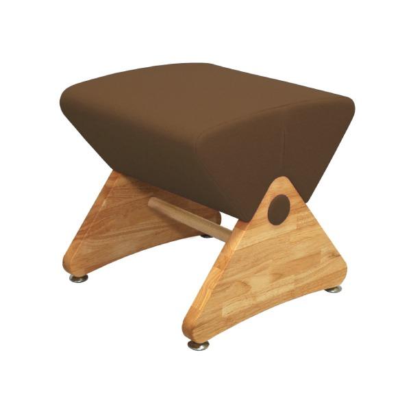 デザイナーズスツール イス バーチェア 椅子 カウンターチェア アジャスター付き クリア(布:ブラウン/ABS)【Mona.Dee】モナディー WAS01S 茶