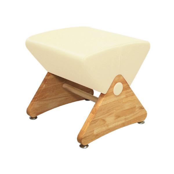 デザイナーズスツール イス バーチェア 椅子 カウンターチェア アジャスター付き クリア(ビニールレザー:アイボリー/PU)【Mona.Dee】モナディー WAS01S 乳白色