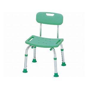 テツコーポレーション シャワーチェア (イス 椅子) コンパクトミニ 背もたれ付き /T-6602-2 マスカットグリーン 緑