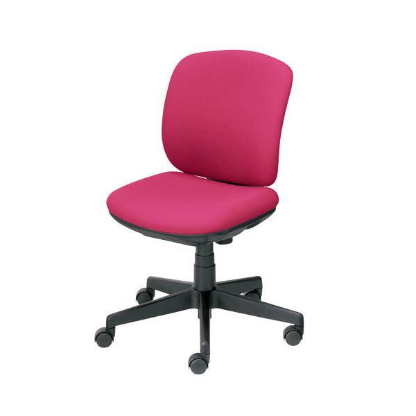 プラス 事務イス(オフィス チェア (イス 椅子) /OAチェア 事務用 椅子 ) プリセア KC-K56SL 肘なし PK