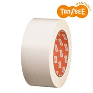 (まとめ)布テープ 50mm×25m 白 30巻