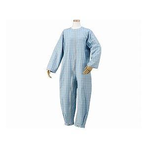 ハートフルウェアフジイ つなぎパジャマ /HP06-100 L 03ブルー