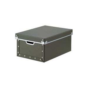 (業務用7セット)ジョインテックス 紙製整理 収納 ケース・フタ付深型A4 B775J
