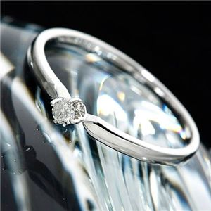 WEB限定 シンプルで美しい 18金ダイヤモンドリング K18ダイヤリング 今季も再入荷 7号 指輪