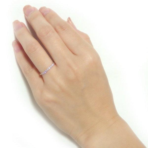 ダイヤモンド リング ハーフエタニティ 0 2ct 10号 K18 ピンクゴールド 0 2カラット エタニティリング 指輪 鑑別カード付きywOvnN0m8