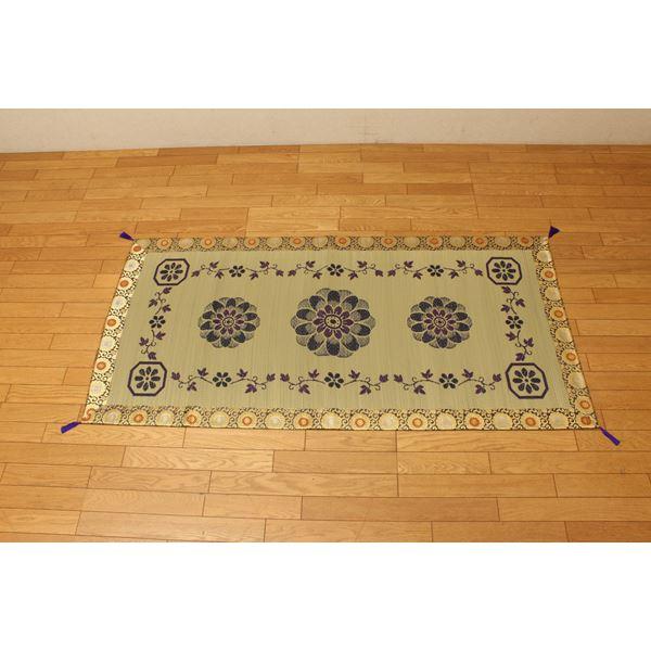純国産/日本製 袋織 い草御前(仏前)ござ 『ガンジー』 約88×180cm