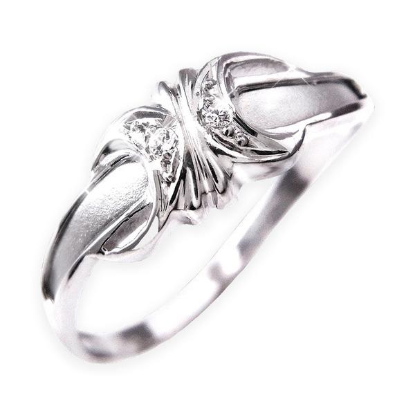 ダイヤリング 指輪エレガントリング 11号