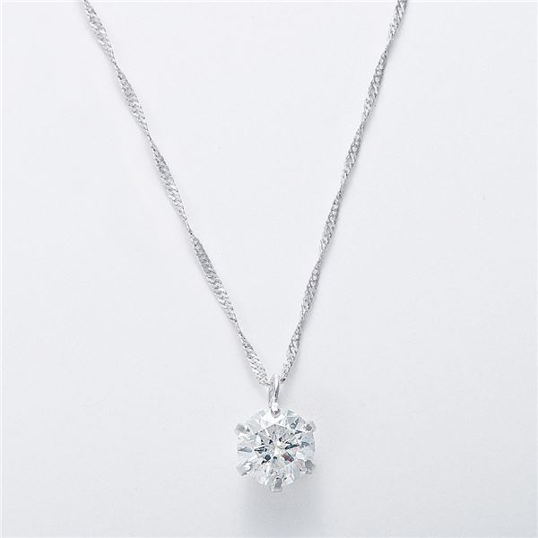 純プラチナ 0 5ctダイヤモンドペンダント ネックレス スクリューチェーンGqSULMzVp