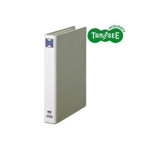 (まとめ)TANOSEE パイプ式ファイル 片開き A4タテ 30mmとじ グレー 30冊, 人気が高い 4c6e01a8