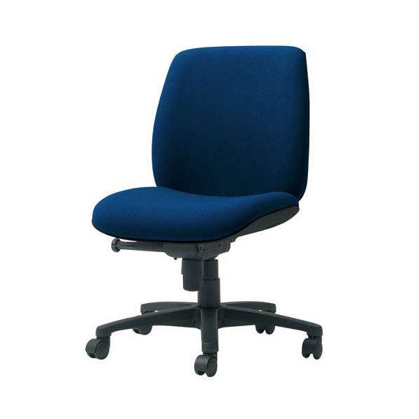 プラス 事務イス(オフィス チェア (イス 椅子) /OAチェア 事務用 椅子 )U KC-UC60SLJ BL