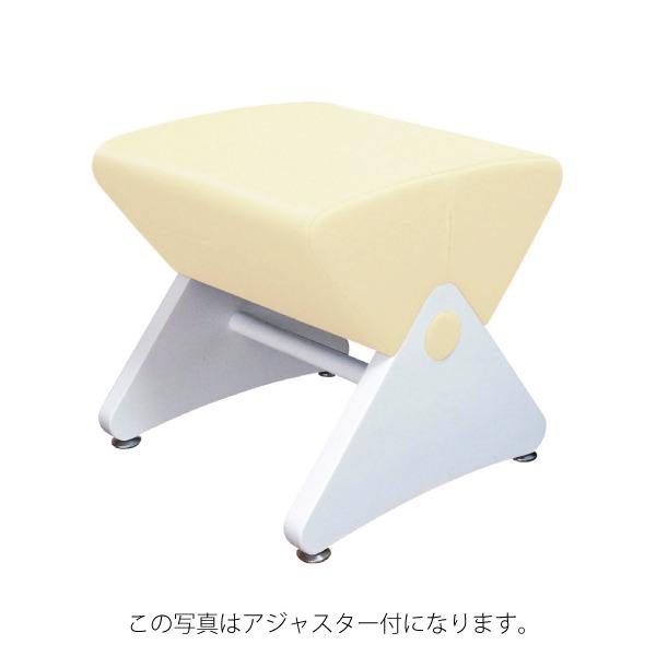 デザイナーズスツール イス バーチェア 椅子 カウンターチェア キャスター付 移動可能 車輪付き き ホワイト(ビニールレザー:アイボリー/ナイロン)【Mona.Dee】モナディー WAS01SC 白 乳白色