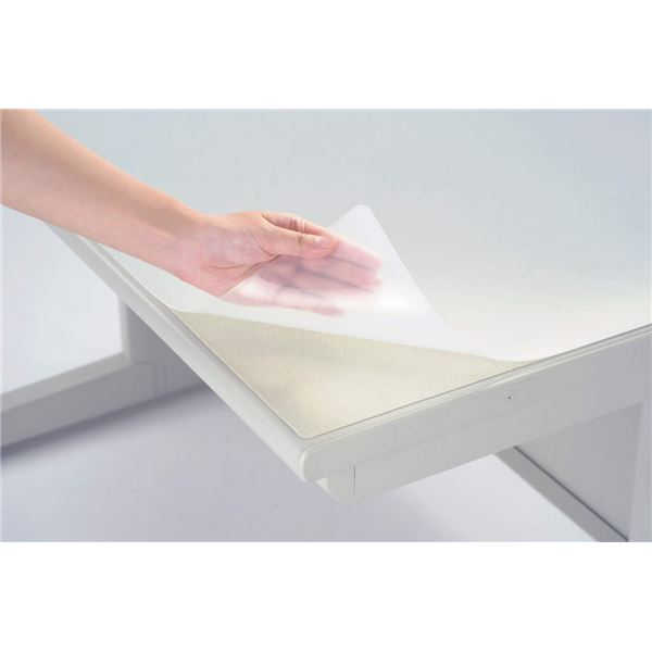 デスク (テーブル 机) マット(FRタイプ) ダブル W1590×D690×H2.2mm