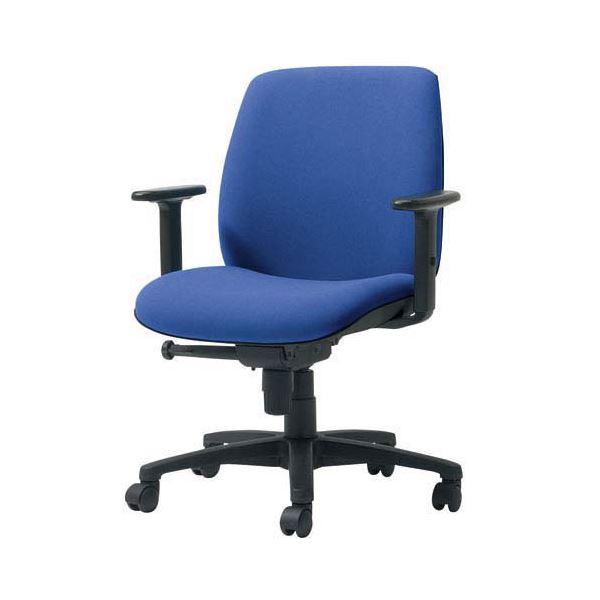 プラス 事務イス(オフィス チェア (イス 椅子) /OAチェア 事務用 椅子 )U KD-UC61SLJ LB