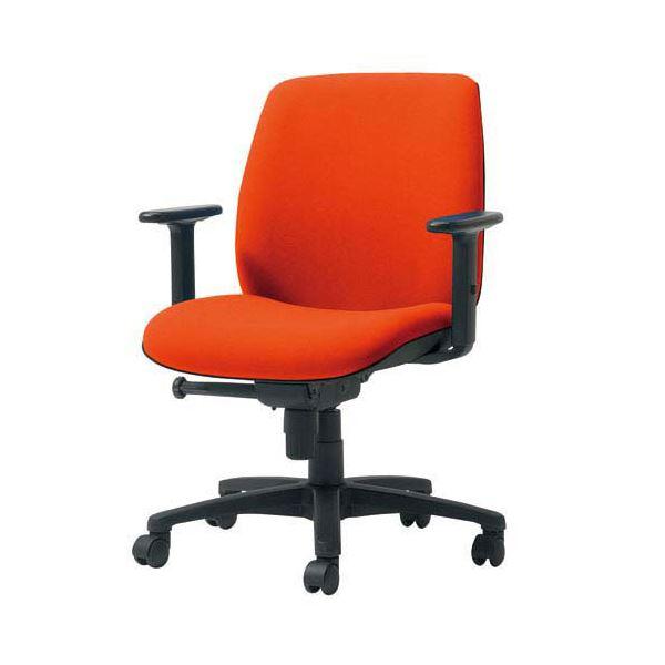 プラス 事務イス(オフィス チェア (イス 椅子) /OAチェア 事務用 椅子 )U KD-UC61SLJ OR