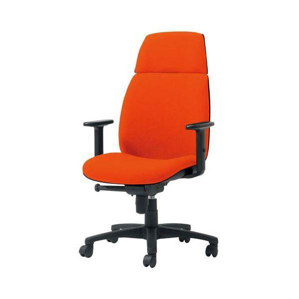 プラス 事務イス(オフィス チェア (イス 椅子) /OAチェア 事務用 椅子 )U KD-UC63SLJ OR