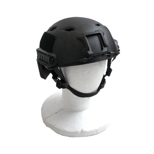 FA ST ヘルメット パラトルーパー H M026NN ブラック 【 レプリカ 】 黒