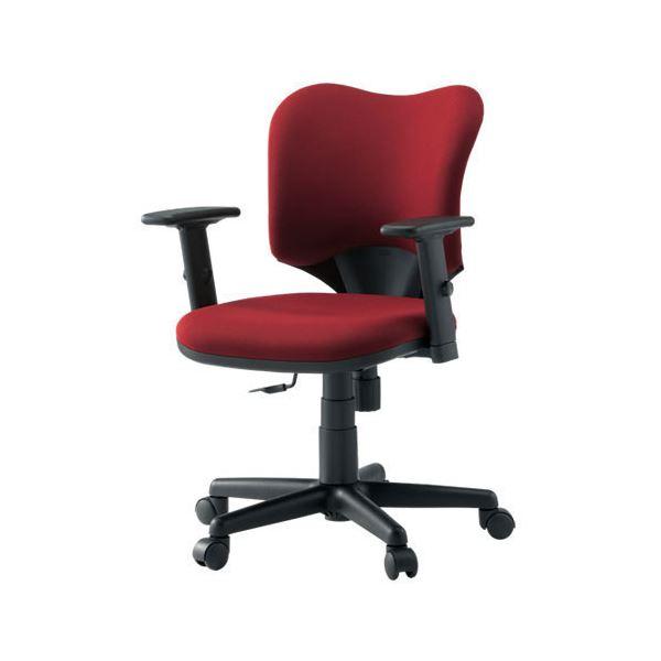 プラス 事務イス(オフィス チェア (イス 椅子) /OAチェア 事務用 椅子 ) プロップ肘付 KD-A92SL RS