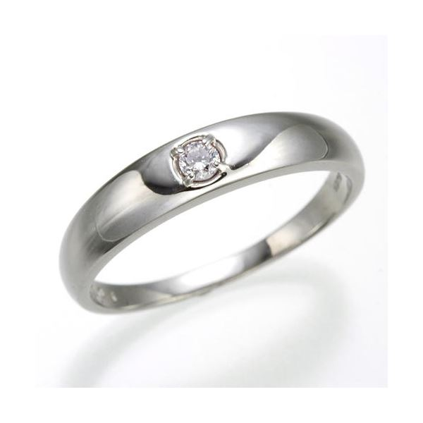 0.05ctピンクダイヤリング 指輪 ストレート 21号