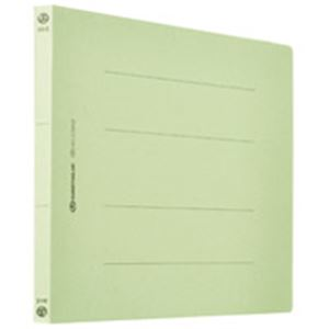 フラットファイル/紙バインダー 【A4/2穴 360冊入り】 ヨコ型 グリーン(緑) D018J-36GR 緑
