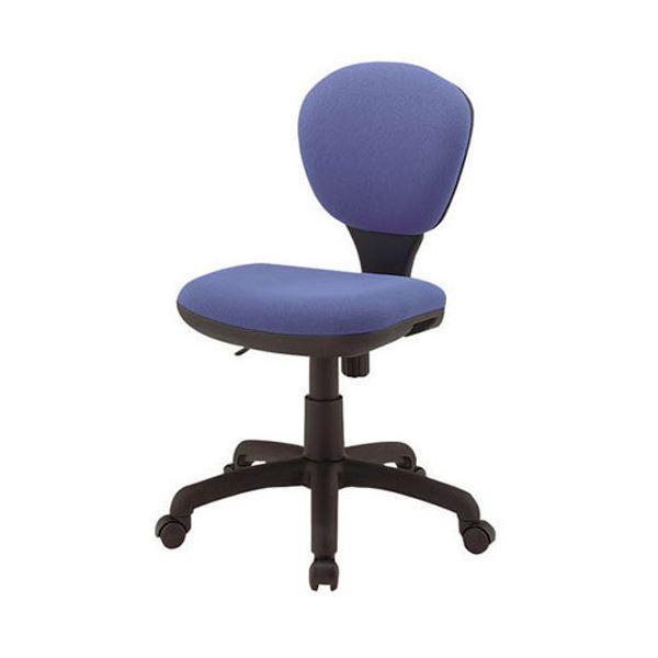 ジョインテックス 事務イス(オフィス チェア (イス 椅子) /OAチェア 事務用 椅子 ) C301J ブルー 青