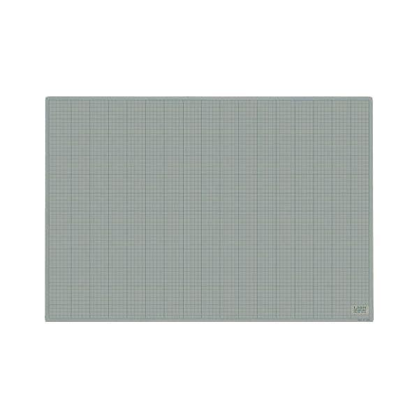 カッティングマット(再生PVC・両面使用可能) 灰/黒 900×620×3mm