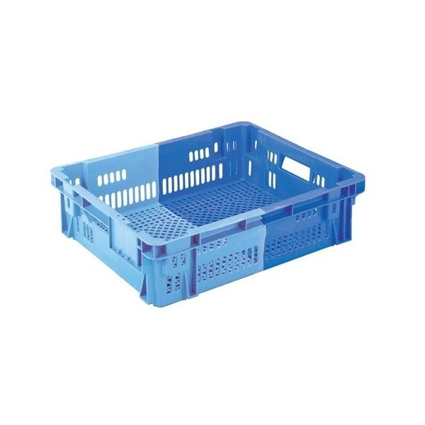 【5個セット】 業務用コンテナボックス/食品用コンテナー 【NF-M29L】 ダークブルー/ブルー 材質:PP【代引不可】