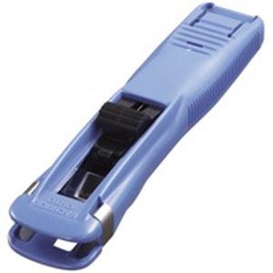 【送料無料】(業務用10セット) オート ガチャック GS-500 中 青 10個 ×10セット