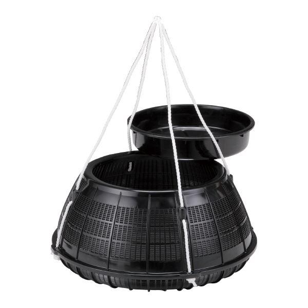 (業務用5個セット)三甲(サンコー) プラビク セット ブラック 黒