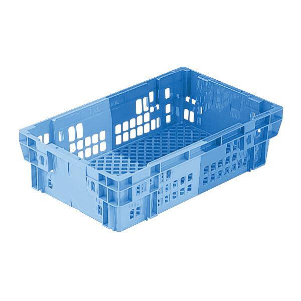 (業務用10個セット)三甲(サンコー) SNコンテナ/2色コンテナボックス 【Cタイプ】 #24V ブルー×ライトブルー 【代引不可】