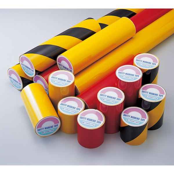 粗面用反射テープ AHT-210TR ■カラー:黄/黒 200mm幅【代引不可】