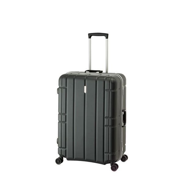 スーツケース/キャリーバッグ 【マットブラック】 100L 手荷物預け無料最大サイズ TSAロック アジア・ラゲージ 『AliMaxG』
