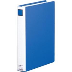 【送料無料】(業務用10セット) キングジム パイプ式ファイル/スーパードッチ脱着イージー 【A4/タテ型】 10冊入り とじ厚:30mm 2473GXA 青 ×10セット