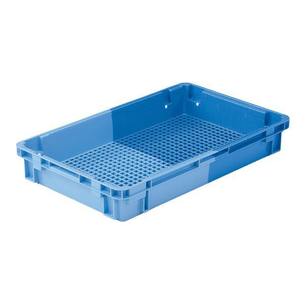 (業務用10個セット)三甲(サンコー) SNコンテナ/2色コンテナボックス 【Cタイプ】 #25S-2 ブルー×ライトブルー 【代引不可】