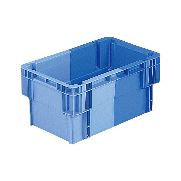 (業務用10個セット)三甲(サンコー) SNコンテナ/2色コンテナボックス 【Bタイプ】 #19FK ブルー×ライトブルー 【代引不可】
