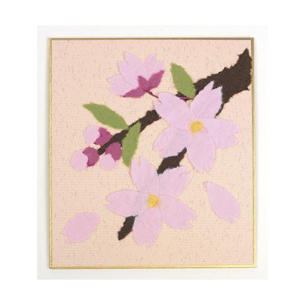 (業務用10セット) 藤久 和紙でつくるちぎり絵ミニ 春 桜