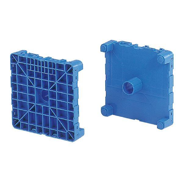 三甲(サンコー) フィルムロール梱包輸送機器/プラテクター 段積み可 395 ブルー(青)【代引不可】
