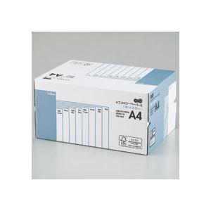 (まとめ) TANOSEE αエコカラーペーパーII A4 イエロー 業務用パック 1箱(5000枚:500枚×10冊) 【×10セット】
