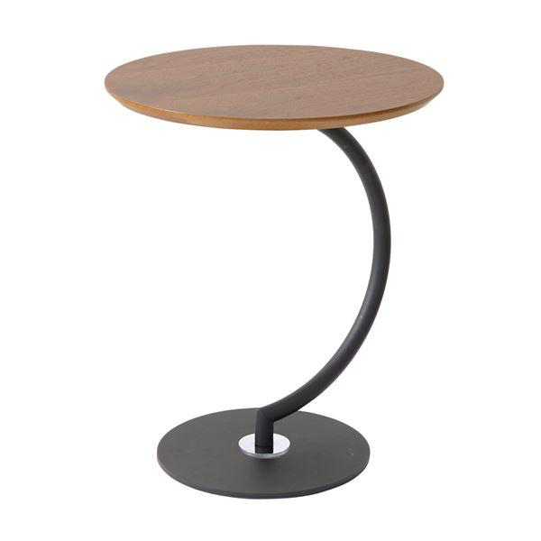 あずま工芸 サイドテーブル エンドテーブル コーナーテーブル 小型 脇台 机 幅46×高さ55cm SST-960