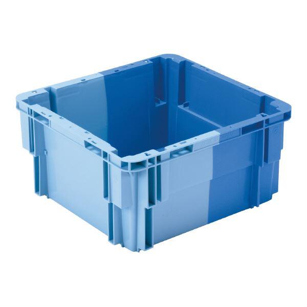 (業務用10個セット)三甲(サンコー) SNコンテナ/2色コンテナボックス 【Bタイプ】 #20A ブルー×ライトブルー 青