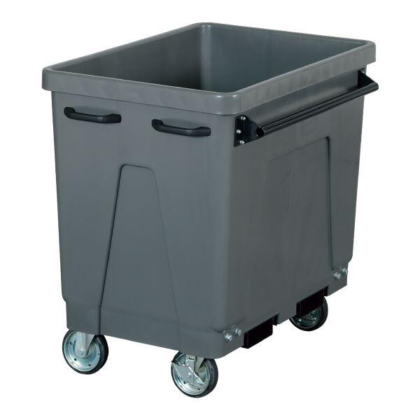 三甲(サンコー) サンクリーンカート(大型分別回収用カート/大型ゴミ箱) 365L キャスター付き #400D グレー(灰)【代引不可】