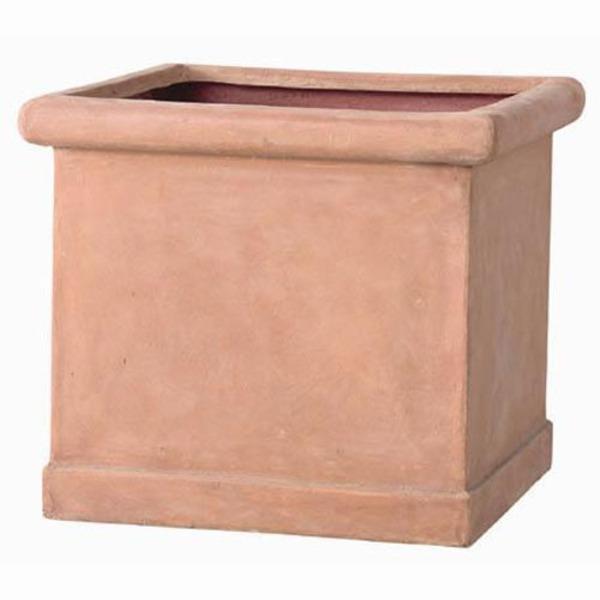 軽量植木鉢/プランター 【テラコッタ 幅43cm】 穴有 ファイバー製 『CLタブポット』