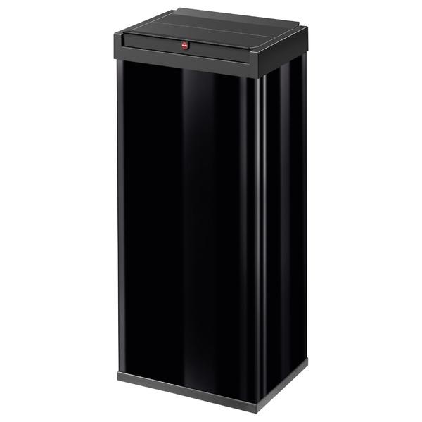 Hailo(ハイロ)ニュービッグボックス60L ブラック(ゴミ箱・ダストBOX) 60083