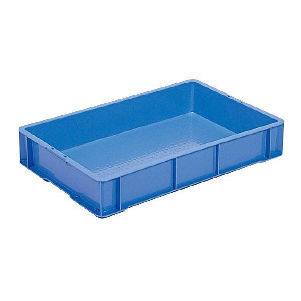(業務用10個セット)三甲(サンコー) 全面網目コンテナボックス/サンテナー スタッキング可 ベタ B30-6 (B) ブルー(青) 青