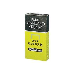 (業務用100セット) プラス ホッチキス針 BOSS 210用 210本とじ×24