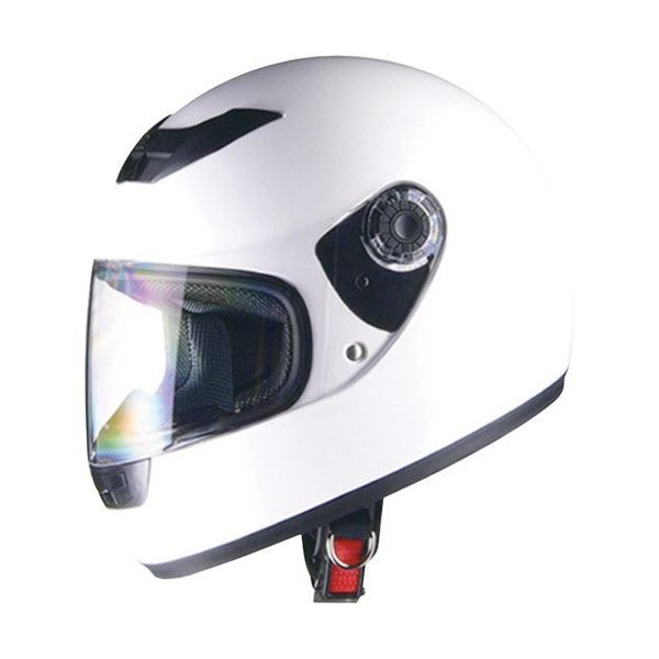 リード工業 (LEAD) フルフェイスヘルメット CR715 ホワイトWH フリー